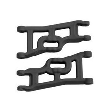 RPM R/C Products RPM70552 - RPM Products Offset-Compensating Front A-arms for the Traxxas Slash 2wd & Nitro Slash Black