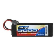 Duratrax DTXC2054 - Duratrax Onyx NiMH 6C 7.2V 3000mAh Stick Star Plug