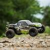 ECX ECX03028T2 - ECX 1/10 AMP MT 2WD Monster Truck RTR, Black/Green