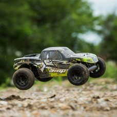 ECX ECX03028T2 - ECX 1/10 AMP MT 2WD Monster Truck RTR, Black/Green