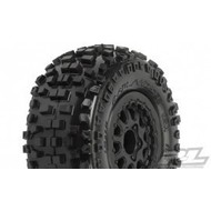 "Proline Racing PRO1182-13 - Pro-Line Badlands SC 2.2""/3.0"" M2 (Medium) Tires Mounted (Slash Rear, Slash 4x4 and Blitz* Front or Rear)"