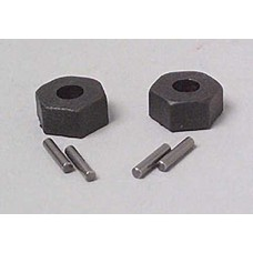 Traxxas TRA1654 - Traxxas Wheel Hubs, Hex (2) with Axle Pins (2) Traxxas
