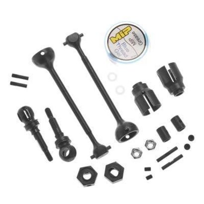 MIP MIP13260 - MIP Race Duty CVD Steel Kit Front Traxxas Slash 4x4