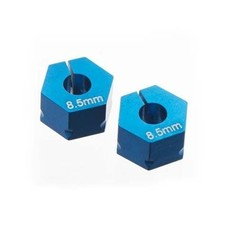Team Associated ASC71014 - Team Associated Clamping Wheel Hex Blue T5M (2)
