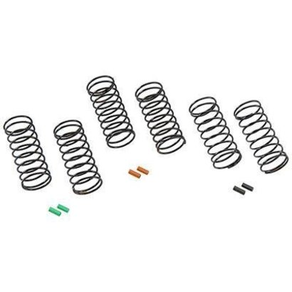 Team Associated ASC91341 - Team Associated Front Soft Spring Kit 12mm (6)