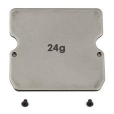 Team Associated ASC91747 - Team Associated B6 Steel Chassis Weight (24g)