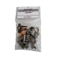 Caster Racing CRP-TRCKIT - Caster Racing Alum Parts Upgrade Kit for TRC104