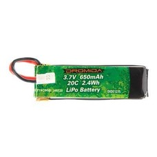 Dromida DIDE1275 - Dromida LiPo 1S 3.7V 650mAh Hovershot 120 FPV