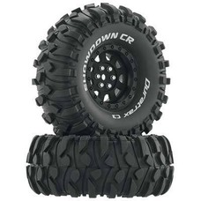 Duratrax DTXC4034 - Duratrax Showdown CR C3 Mounted 1.9 Crawler Black (2)