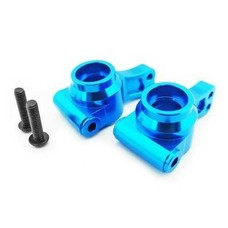 Hot Racing ECT2206 - Hot Racing Blue Aluminum Rear Knuckles Hub ECX Temper