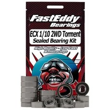 Fast Eddy Fast Eddy Bearings ECX 1/10 2WD Torment Rubber Sealed Bearing Kit