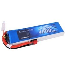 Gens Ace GA-B-45C-4000-3S1P - Gens ace 4000mAh 11.1V 25C 3S1P Lipo Battery Pack with Deans plug