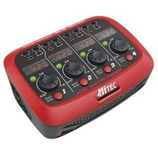Hitec HRCP4212 - Hitec  X4 Micro AC/DC 1 Cell LiPo Charger