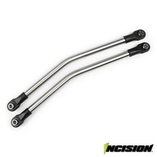 Vanquish IRC00051 - Incision Yeti 1/4 Stainless Steel Rear Upper Suspension Link Kit