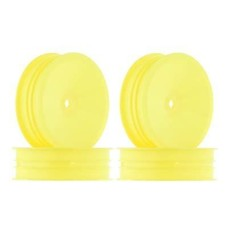 "JConcepts JCO3376Y - JConcepts Mono 2.2"" Slim Front Wheel Yellow B5M/RB6 (4)"