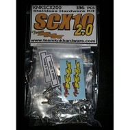 Team KNK KNKSCX200 - Team KNK SCX10 2.0 Stainless Hardware Kit (186 Pieces)