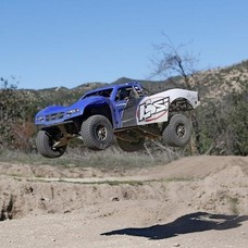 Losi LOS03008T2 - Losi 1/10 Baja Rey 4WD RTR Desert Truck with AVC, Blue