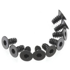 Axial AXA463 - Axial Hex Socket Tap Flat Head M 3x6mm Black (10)