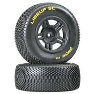 Duratrax DTXC3679 - Duratrax 1:10 Lineup SC Tire C2 Mounted Rear Slash (2)
