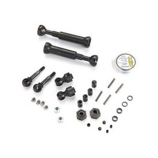 MIP MIP10132 - MIP X Duty CV Kit With Keyed Axles, Front Traxxas Slash 4x4, Rally