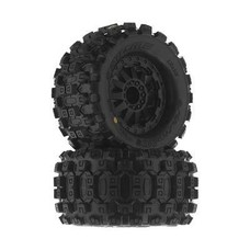 "Proline Racing PRO10125-14 - Pro-Line 1/10 Badlands MX28 2.8"" Tires Mounted Fr/Re"