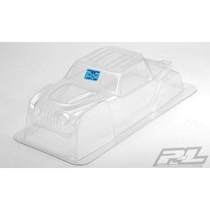 Proline Racing PRO3452-00 - Pro-Line Jeep Wrangler Rubicon Clear Body for Yeti