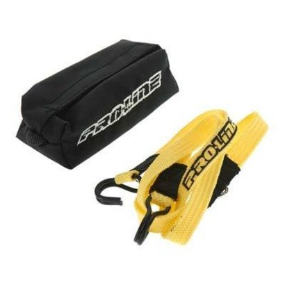 Proline Racing PRO6314-00 - Pro-Line Scale Recovery Tow Strap w/Duffel Bag 1/10 Crw