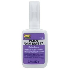 ZAP PT25 -  Zap-O Foam Safe CA+ Odorless .7 oz