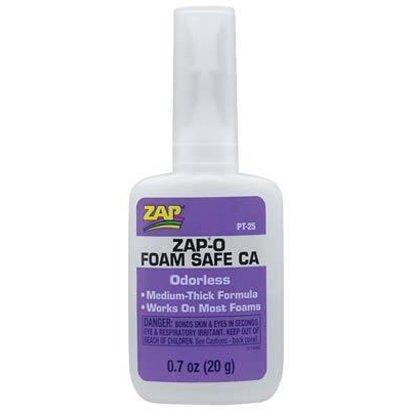 ZAP PT25 -  Zap-O Foam Safe CA+ Odorless .7 oz