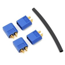 ProTek PTK-5029 - ProTek 3.5MM MAXXCURRENT XT60 POLARIZED CONNECTOR (4 MALE)