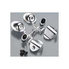 RPM R/C Products RPM70293 - RPM Through-The-Body Mock Side Exhaust Tips Chrome