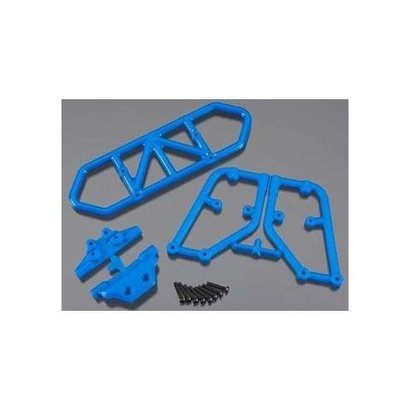 RPM R/C Products RPM80125 - RPM Rear Bumper Blue Slash 4X4