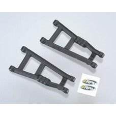 RPM R/C Products RPM80182 - RPM  A-Arms Blk Elec Rstlr/Stmpd (2)