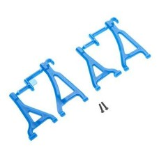 RPM R/C Products RPM80695 - RPM Front Upper & Lower A-Arms Blue 1/16 Traxxas E-Revo