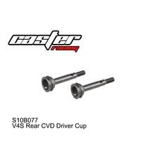 Caster Racing S10B077 - Caster Racing V4 R. CVD Axle Stub