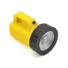 Scale By Chris SBC045LFY - Scale By Chris LARGE FLASHLIGHT(YELLOW)