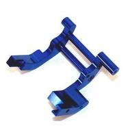 ST Racing Concepts ST3677B - STRC Machined Alum Rear Motor Guard Blue Slash/Rustler