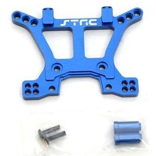 ST Racing Concepts ST6839B - STRC CNC Mach Alum HD Front Shock Tower Blue Slash 4X4