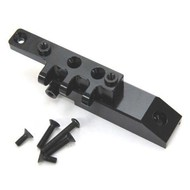 ST Racing Concepts STA80072FBK - STRC Machined HD Aluminum Axial Wraith Front Upper Link Servo Mount Black