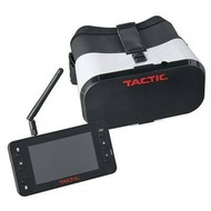 "Tactic TACZ5202 - Tactic FPV-G1 Goggles with 4.3"" 5.8GHz 40CH Monitor/DVR"