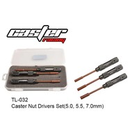 Caster Racing TL-032 - Caster Racing Nut Driver Set 5.0/5.5/7.0mm