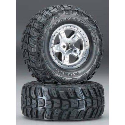 Traxxas TRA5881 - Traxxas Kumho Tires/SCT Wheels 2WD Front (2)