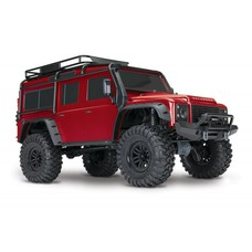 Traxxas TRA82056-4 - Traxxas TRX-4 Scale & Trail Crawler RTR - RED