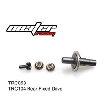 Caster Racing TRC053 - Caster Racing  Rear Gear Diff