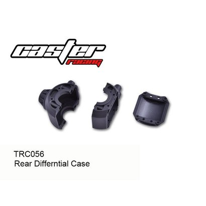 Caster Racing TRC056 - Caster Racing Rear Diff Case