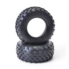 Schumacher U6781 - Short Course Stagger Rib Tyre - Yellow