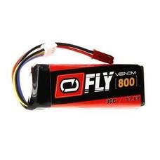 Venom VNR25051 - Venom Fly LiPo 3S 11.1V 800mAh 30C JST Plug