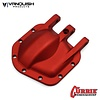 Vanquish VPS06655 - Vanquish CURRIE ROCKJOCK SCX10-II DIFF COVER RED ANODIZED