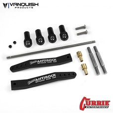 Vanquish VPS08300- Vanquish Currie Antirock Yeti / RR10 Sway Bar Black Anodized V2