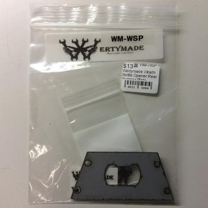 Werty Made WM-WSP - Wertymade Wraith Bottle Opener Rear Bumper Plate